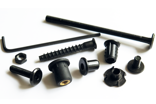 Black fasteners from Insert Company - Wire Tech World