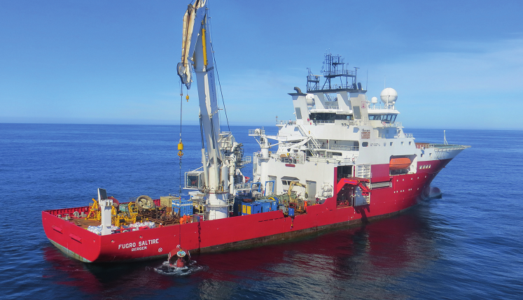 Fugro To Install Cables At The Rampion Offshore Wind Farm