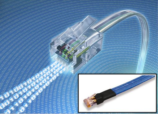 Cicoil offers filler-free flat ethernet cables - Wire Tech World
