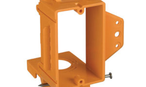 Carlon orange structured cable management system makes installations quicker