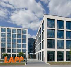 Lapp's new European headquarters in Stuttgart