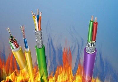 Leoni developed fire-retardant cables available with CPR