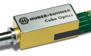 HUBER+SUHNER Cube Optics will showcase new PAM4 modulated ROSA